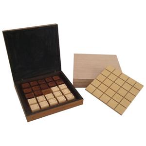 Ar Artefato de Madeira - Jogo de tabuleiro personalizado com estojo confeccionados em madeira MDF. Ofere�a a seus clientes jogos educativos, ecol�gicos e de estrat�gia.