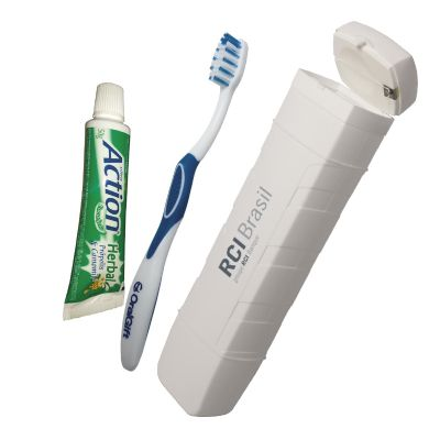 Oral Gift - Kit Higiene Bucal Personalizado Oral Gift FLOSS 4x1.