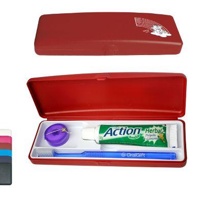 Oral Gift - Kit higiene bucal personalizado necessér 4x1.