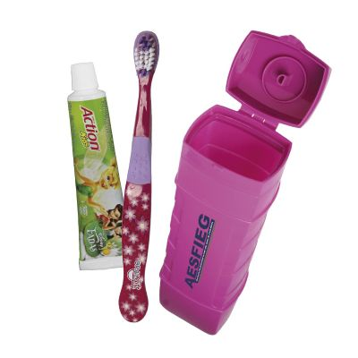 Oral Gift - Kit higiene bucal personalizado infantil pop 3x1.