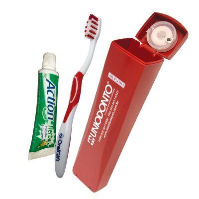 Oral Gift - Kit higiene bucal personalizado slim 4x1 oral gift.