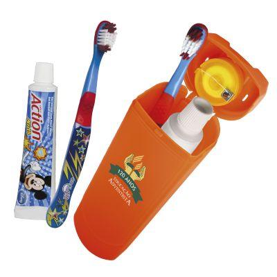 Oral Gift - Kit higiene bucal infantil personalizado UP 3X1.