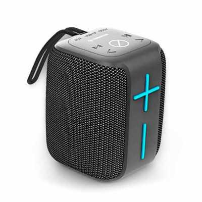 - Microfone embutido Atende chamadas telefônicas Wireless IPX6 Resistente à água Até 8 horas Entrada micro USB Entrada USB Rádio FM  • Potência: 5W RMS...