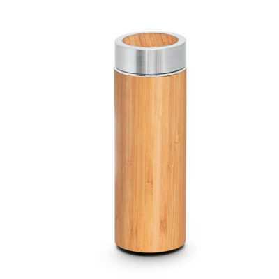 toca-dos-brindes - Garrafa térmica Bambu