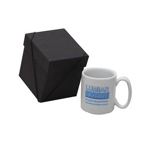 Caneca personalizada em porcelana - caixa em papelão contendo caneca. - Donare Presentes