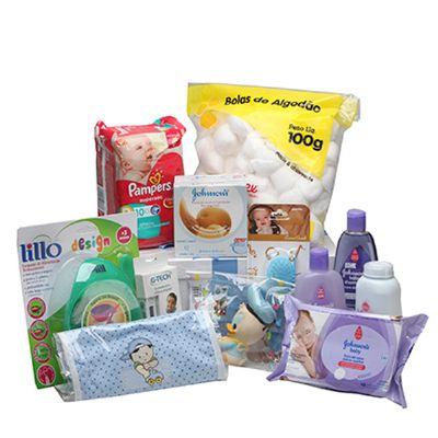 Cesta maternidade especial menino - Donare Presentes