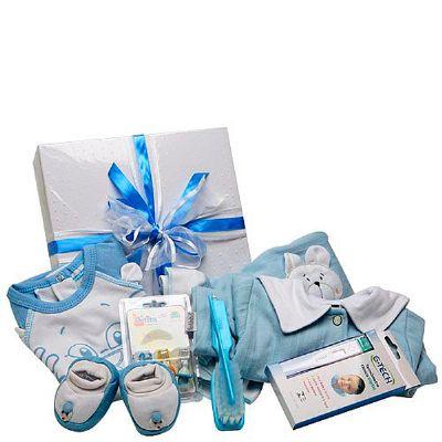 Cesta maternidade I menino - Donare Presentes