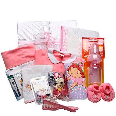 Cesta maternidade II menina - Donare Presentes