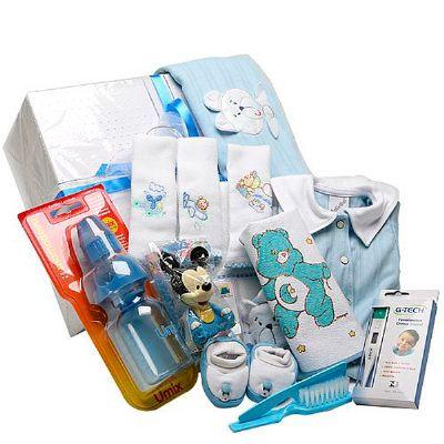 donare-presentes - Cesta maternidade II menino