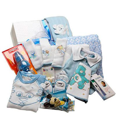 donare-presentes - Cesta maternidade III menino