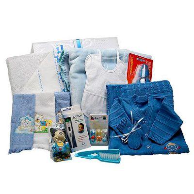 donare-presentes - Cesta maternidade Vip menino
