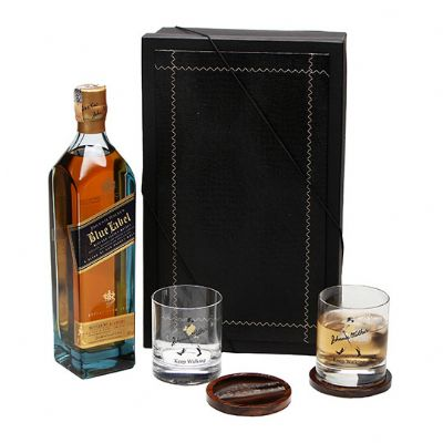 Donare Presentes - Kit Whisky Johnnie Walker Blue Label