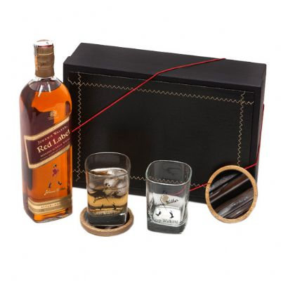 Donare Presentes - Kit Whisky Johnnie Walker Red Label