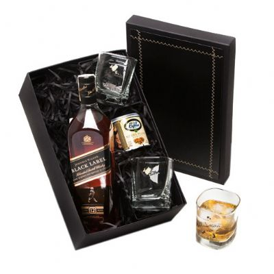 Donare Presentes - Kit Whisky Johnnie Walker Black Label II
