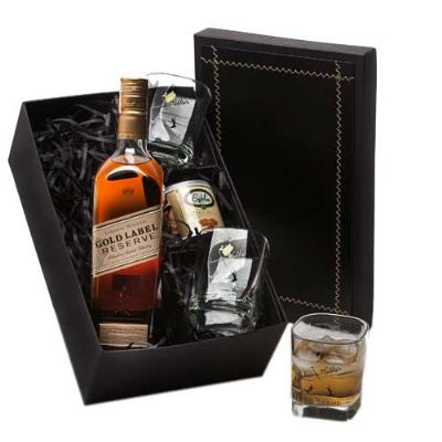 donare-presentes - Kit whisky Johnnie Walker Gold Reserve II
