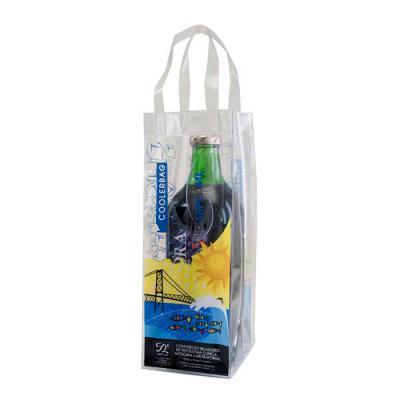 PVChic - Ice Bag fabricada em costura eletrônica, em PVC cristal. Ideal para acondicionar gelo e garrafas de bebida. Disponível em outras medidas. Visite nosso...
