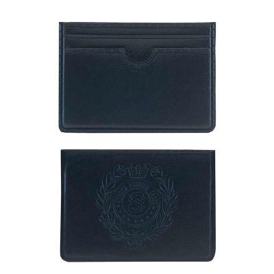 PVChic - O Porta-cartões Master além de ter um belo design, acondiciona 4 cartões e possui um bolso extra. Fabricado em sintético e mede: 7 x10 cm. Personalizá...