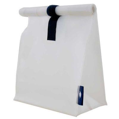 Sobplast - Lunch Bag, confeccionada em costura industrial. Em PVC com fechamento em fecho de contato.
