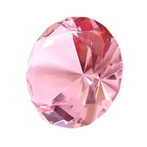 By Luciana Godoy - Personaliza... - Peso de papel diamante rosa