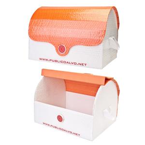 Publico Alvo Embalagens - Baú em papel cartonado personalizado