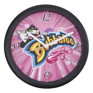 Relógio redondo, com 20,5 cm de diâ
