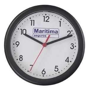 icones-relogios - Relógio redondo, com 20,5 cm de diâmetro.