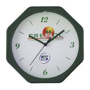 icones-relogios - Relógio oitavado nas medidas: 24 X 24 cm.