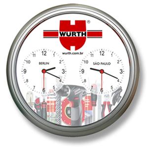 0422969bfea Icones Relógios - Relógio de parede com uma área interna ampliada para  melhor ilustração.