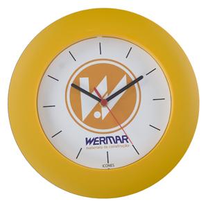icones-relogios - Relógio redondo com borda larga e 30 cm de diâmetro.
