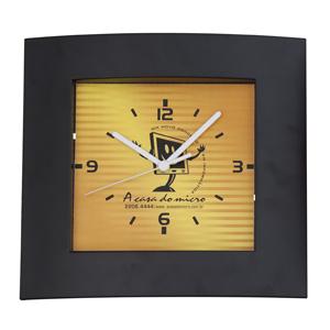 Icones Relógios - Relógio retangular, nas medidas: 27 x 25 cm.