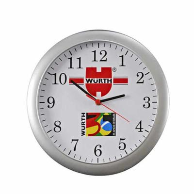 white-brindes - Relógio redondo de parede.