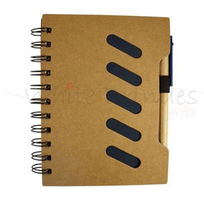 white-brindes - Bloco de anotações com caneta