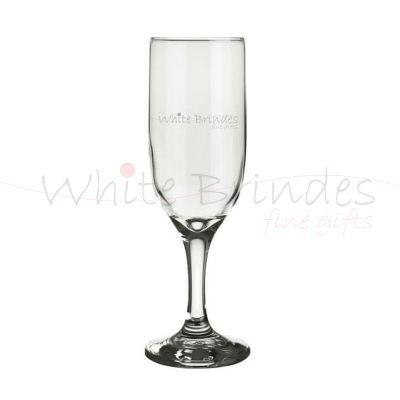 White Brindes - Ta�a de champanhe personalizada.