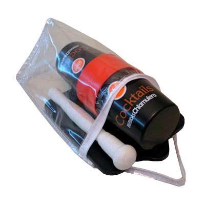 Ice Pack - O Kit Caipirinha 3 é uma ótima opção de presente ele possui socador, coqueteleira, minitabua e uma resistente e prática bolsa que permite você transpo...