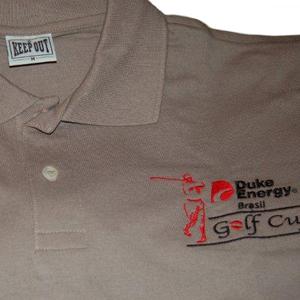 Keep Out Confecções - Camisa pólo personalizada com diversos tipos de impressão.