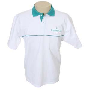 Keep Out Confec��es - Camisa modelo p�lo com recorte em malha piquet 100 % algod�o.