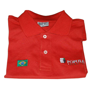 Keep Out Confec��es - Camisa p�lo personalizada com diferentes tipos de grava��es.
