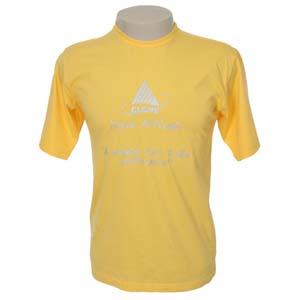 keep-out-confeccoes - Camiseta em meia malha 100% algodão com reforço de costura dupla na gola e ombro.
