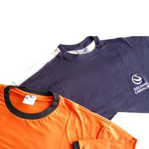Keep Out Confecções - Camiseta esportiva, gola careca, disponível com diversas cores e tipos de impressão.