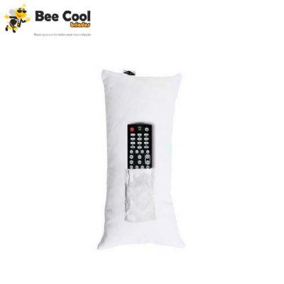 Bee Cool Brindes - Almofada porta controle 15 x 30 cm
