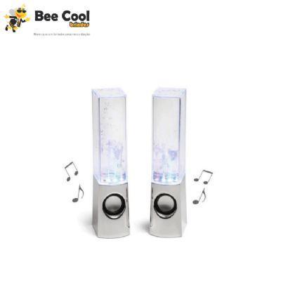 Bee Cool Brindes - Caixa de som águas dançantes