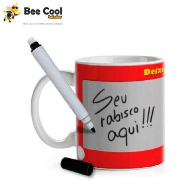 Bee Cool Brindes - Caneca porta recado