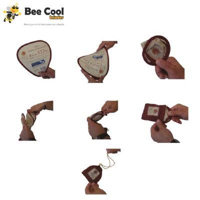 bee-cool-brindes - Leque dobrável