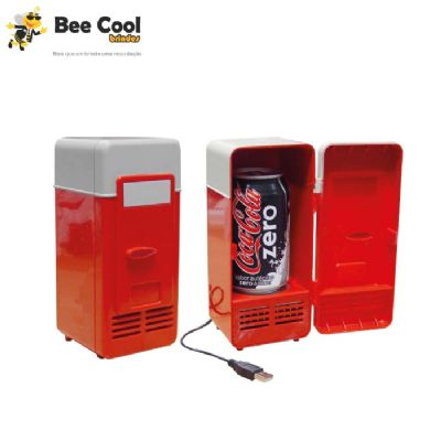 Bee Cool Brindes - Mini geladeira usb