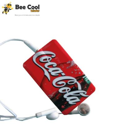 Bee Cool Brindes - MP3 Player cartão