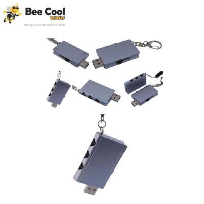 Bee Cool Brindes - Pen drive cadeado