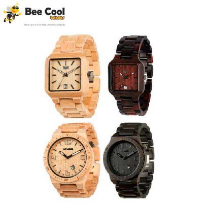 Bee Cool Brindes - Relógios de madeira