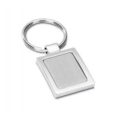 line-brindes - Chaveiro de metal quadrado