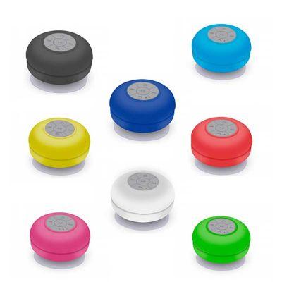 Line Brindes - Caixa de som Bluetooth resistente a água
