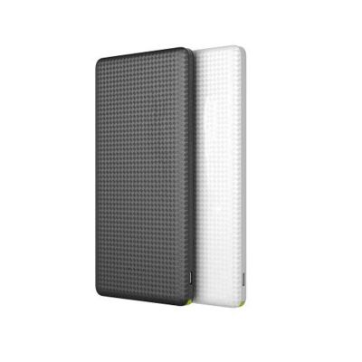 Line Brindes - Power Bank Slim com cabo 5000mAh